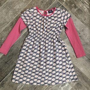 Mini Boden girls' size 7 - 8 yrs long sleeve dress